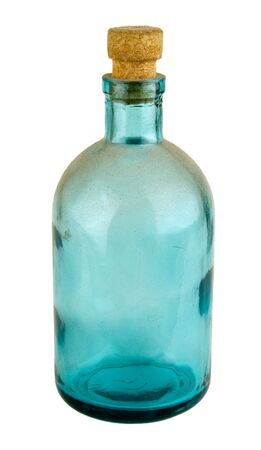 Old bottle for a drugstore or perfumery