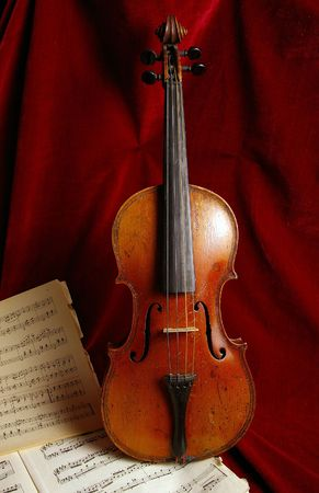 The violin is very ancient musical instrument