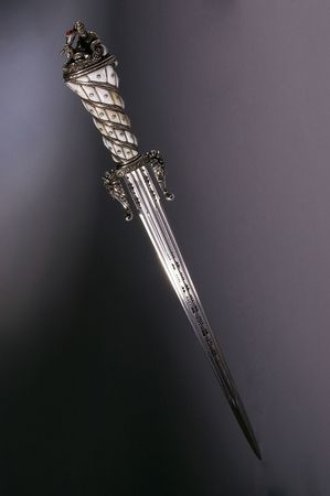 Medieval dagger. It was often used by pirates