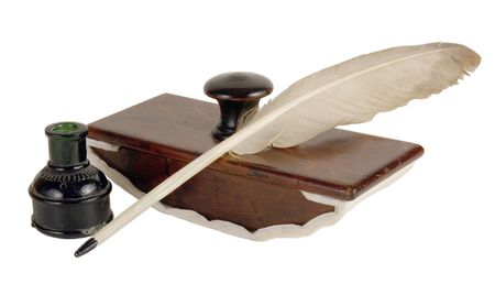 The ancient ink device. It was used the last centuries