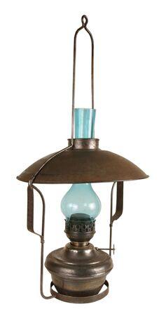 originator: Old lamp working on kerosene. The frequent originator of a fire