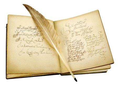 broadside: The ancient book and old goose feather