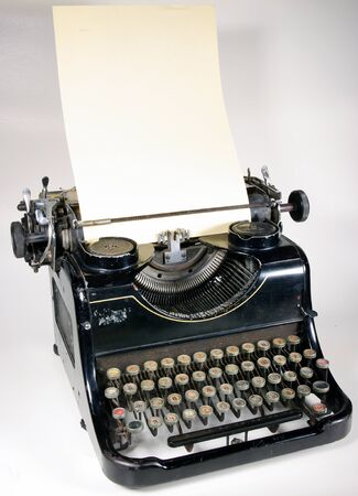 The typewriter is intended to print any texts on a paper
