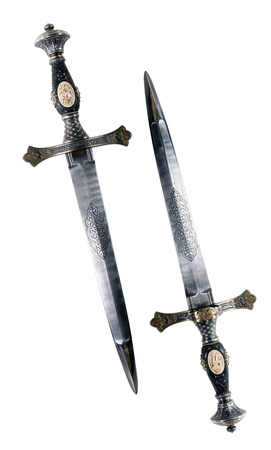 often: Medieval dagger. It was often used by pirates
