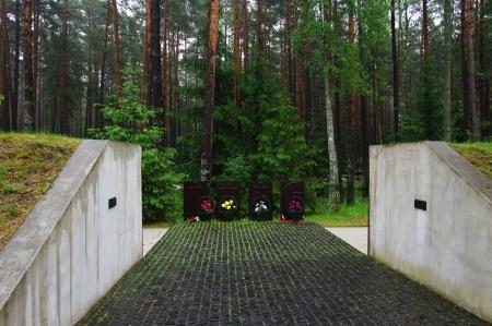 기념관 Katyn - Katyn Forest Smolensk 지역의 폴란드 경찰관 처형 장소