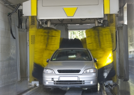 automatic machine: Automatic car wash - very fast and convenient service