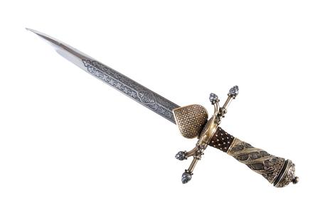 medievales: daga inteligente del soldado medieval. Se utiliz� para la caza