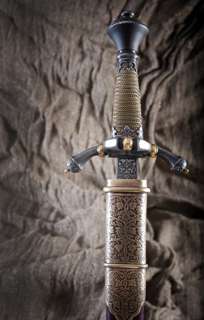 daggers: smart dagger of the medieval soldier. It was used for hunting