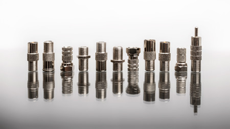 high frequency: Coaxial connectors