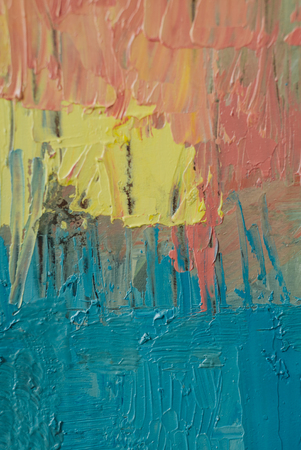 oil paints: Colorful background made oil paints