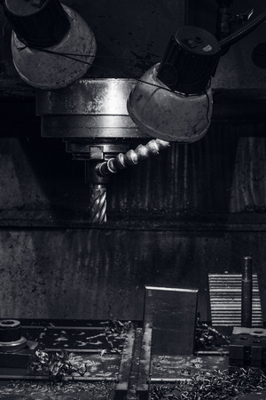 milling center: Drilling machine-tool
