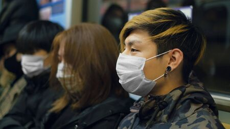 Masked Asian People Real. Protect Flu Coronavirus. Asia Health Care. Environment China Air Pollution . Protection Corona Virus Chinese . Allergy Respiratory Face Mask. SARS-CoV-2.