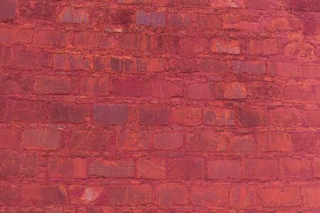 old stones bricks brown under the sunlight