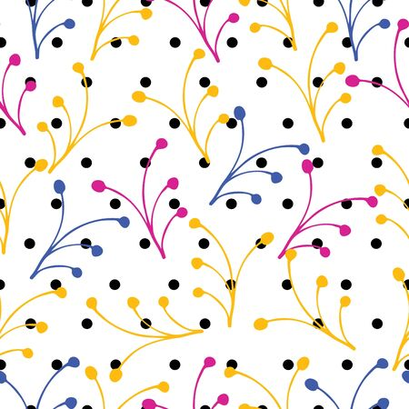 Seamless colorful background pattern, Vector illustration Illustration