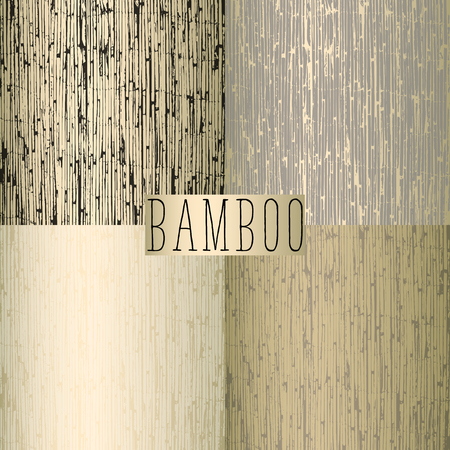 Old bamboo reed fence as a texture
