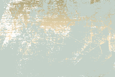 Abstract Grunge effect Pastel Gold in Retro Texture. Vettoriali