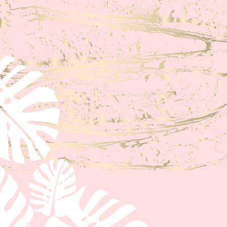 Diseño de borde romántico con flor color de rosa doodle abstracto dibujado a mano sobre fondo de forma de corazón rosa pastel rubor. Ideal para bodas, invitaciones, compromisos, despedidas de soltera, cumpleaños, aniversarios, invitaciones.