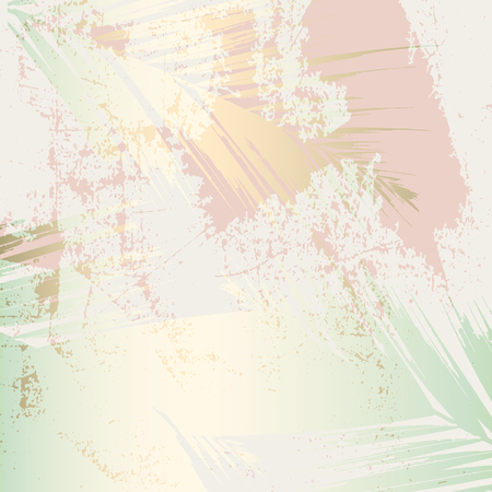 Autumn abstract foliage rose gold blush background. Chic trendy print with botanical motifs 写真素材 - 111563519