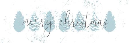 クリスマスツリーコーンペイントベクトルテクスチャ。トレンディなパステルブルーホワイトゴールド植物の冬のパターン
