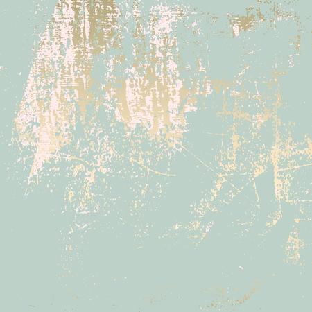 Abstrakte Grunge Pattina-Effekt Pastellgold Retro-Textur. Trendy Chic Hintergrund in Vektor für Ihr Design gemacht