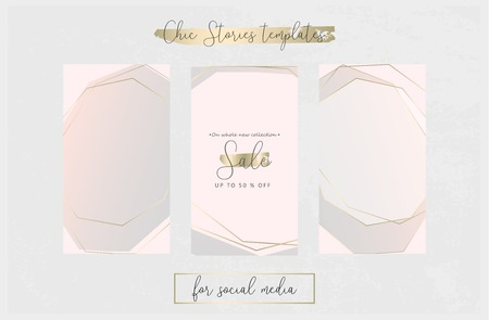 Editable Stories Trendy Chic Templates