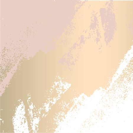 trendy blush pink gold feminine pastel texture background for stunning design of headers, covers, banners, posters, greeting cards, wedding, fashion, invitations, etc Vector Illustration