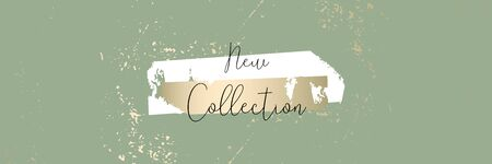 Autumn collection trendy chic gold blush background for social media