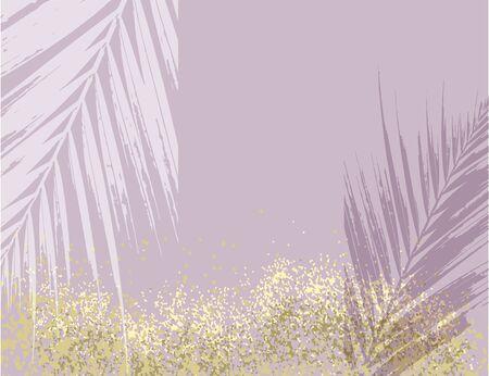 Elegant luxury rose pink blush and gold glitter brush stroke background