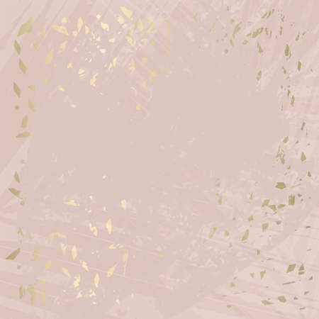 Abstract Marble Trendy Texture in Pastel and Gold colors Иллюстрация