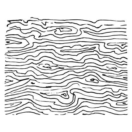 Wooden texture black vector scribbles