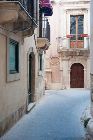 ortigia: Views of the streets of Ortigia, the old part of Syracuse