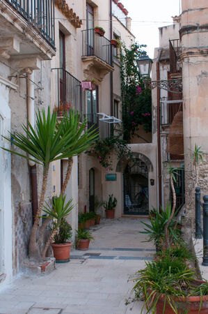 syracuse: Views of the streets of Ortigia, the old part of Syracuse
