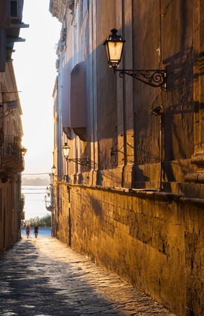 glimpse: Views of the streets of Ortigia, the old part of Syracuse
