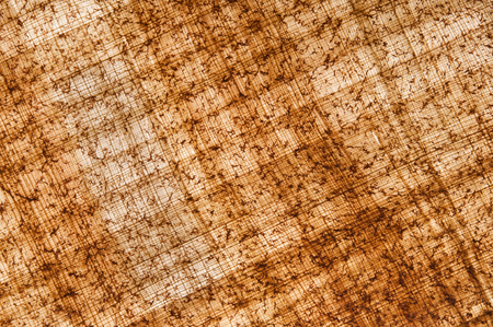antique background: Papyrus sheet with its typical structure and texture Stock Photo