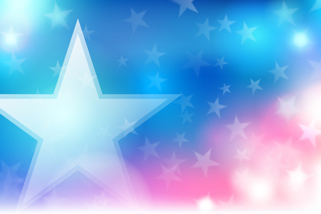 Vector abstract Independence Day background.