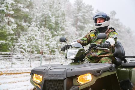 saboteur: The border guard ATV guards the state border
