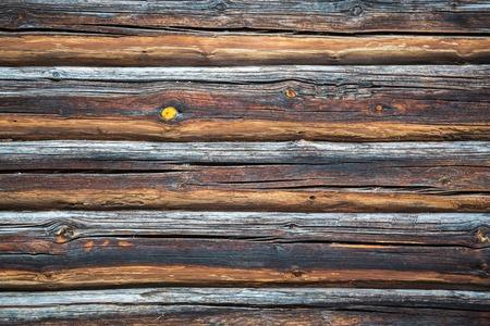 Rustikaler hölzerner Plankenhintergrund. Old Vintage Planked Holz Textur Hintergrund. Draufsicht des rustikalen Holzes. Textur von Rindenholz als natürlicher Hintergrund. Textur der Holzoberfläche als Hintergrund, Ansicht von oben
