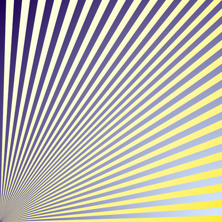 Abstract pattern of colored lines filled with gradient Ilustração