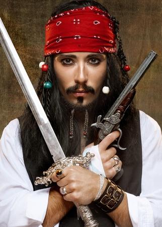 firearms: Pirata Foto de archivo