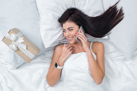 Young Woman Phone Call Concept