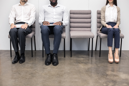 People Waiting for Job Interview Concept