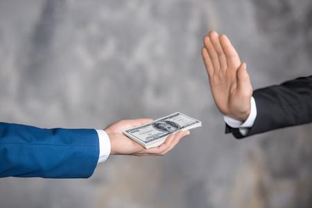 Money Cash Finance Corruption Illegal Transaction Concept Banco de Imagens - 77398734