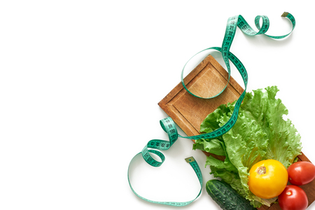 Stay Fit. Healthy eating, dieting, slimming and weigh loss concept Stock Photo