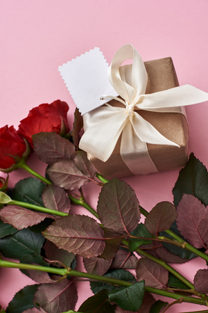 Day to celebrate their love. Impress her with fresh red roses and beautiful gift box