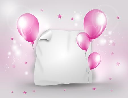 light pink: Light pink and white celebration background for different party Stock Photo