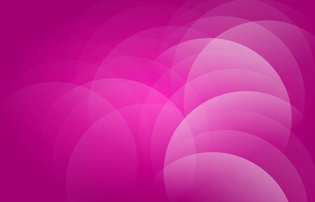 shapes cartoon: Pink purple abstract background with white circle ornaments