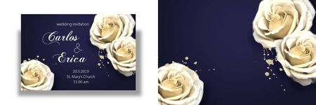 Elegant and romantic background suitable for wedding