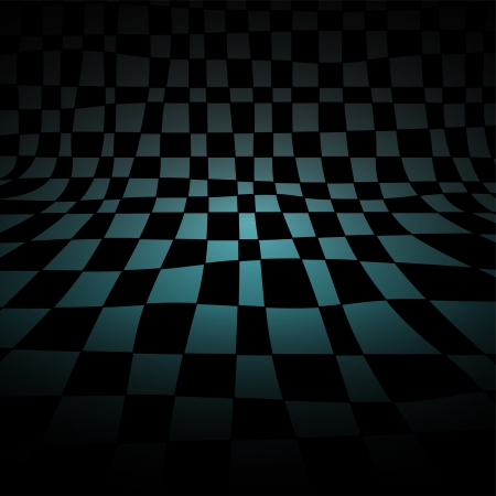 Abstract chess room, gradient vector background, light and shadow Vector