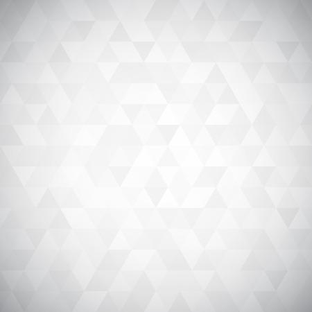 デジタル三角形ピクセル モザイク、白と黒の色、高さキー グレースケール、抽象的なベクトルの背景