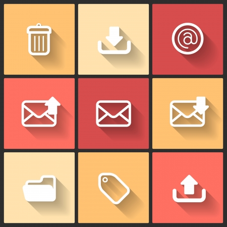 application recycle: Vector design flat icons for web and mobile